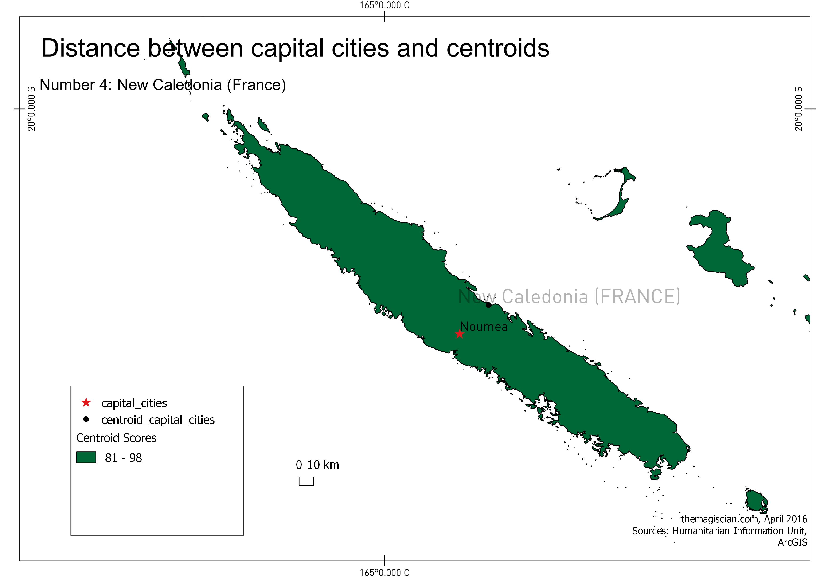 n°4: New Caledonia (France)