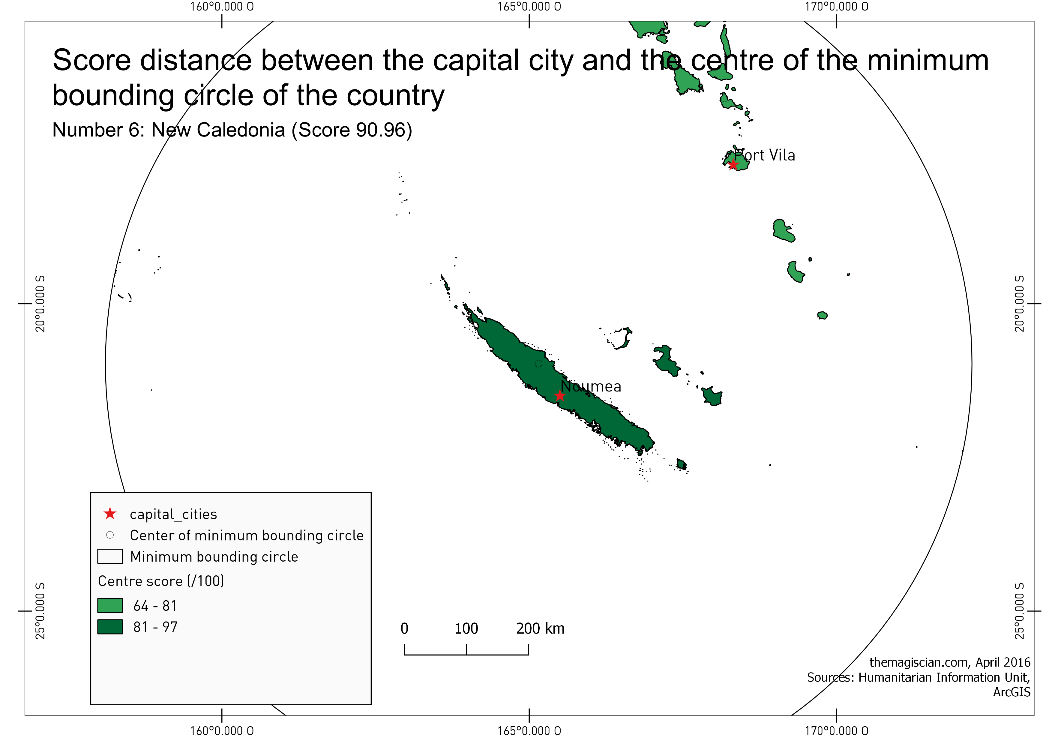 n°6: New Caledonia