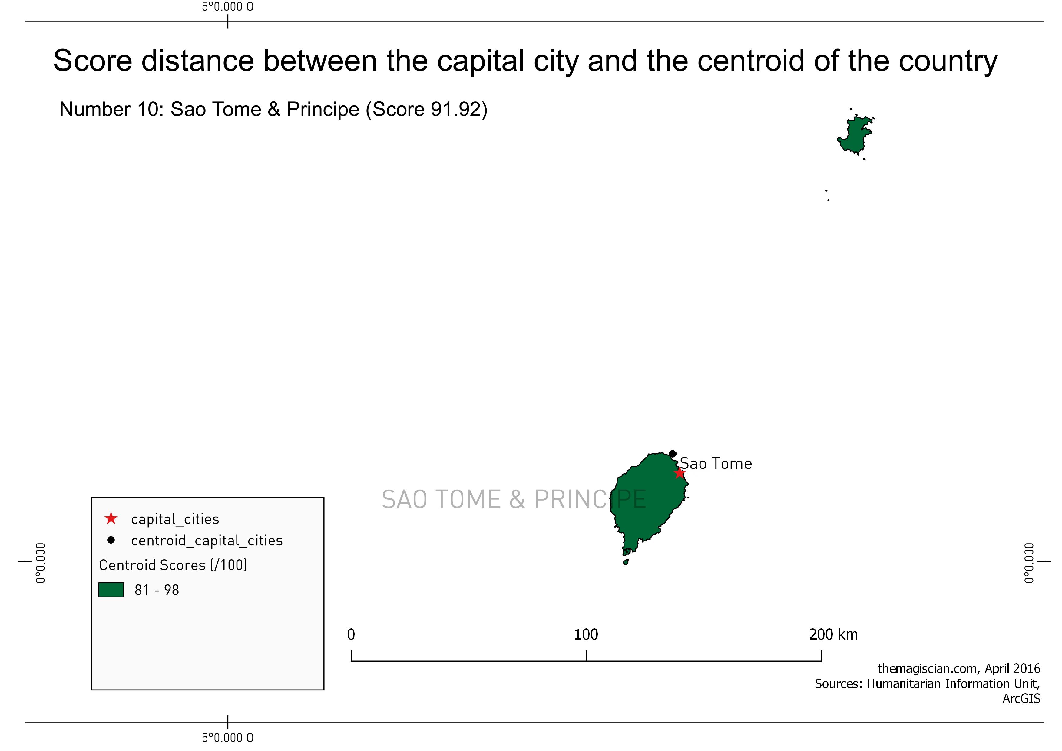 n°10: Sao Tome & Principe