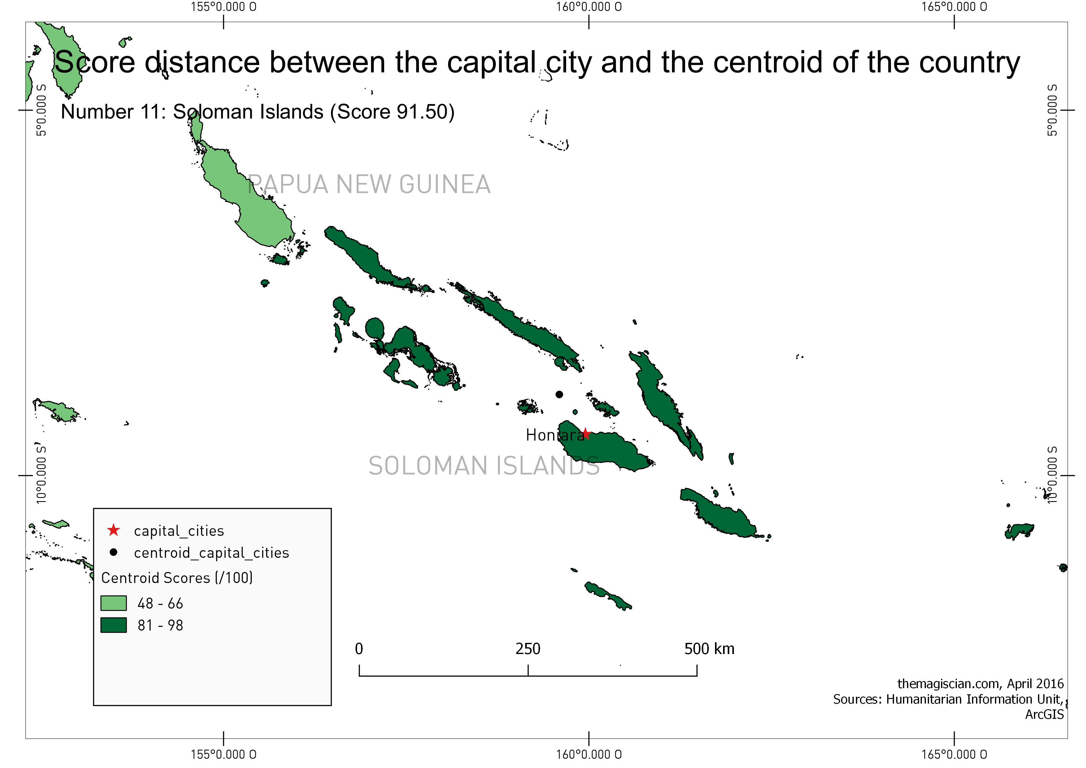 n°11: Soloman Islands