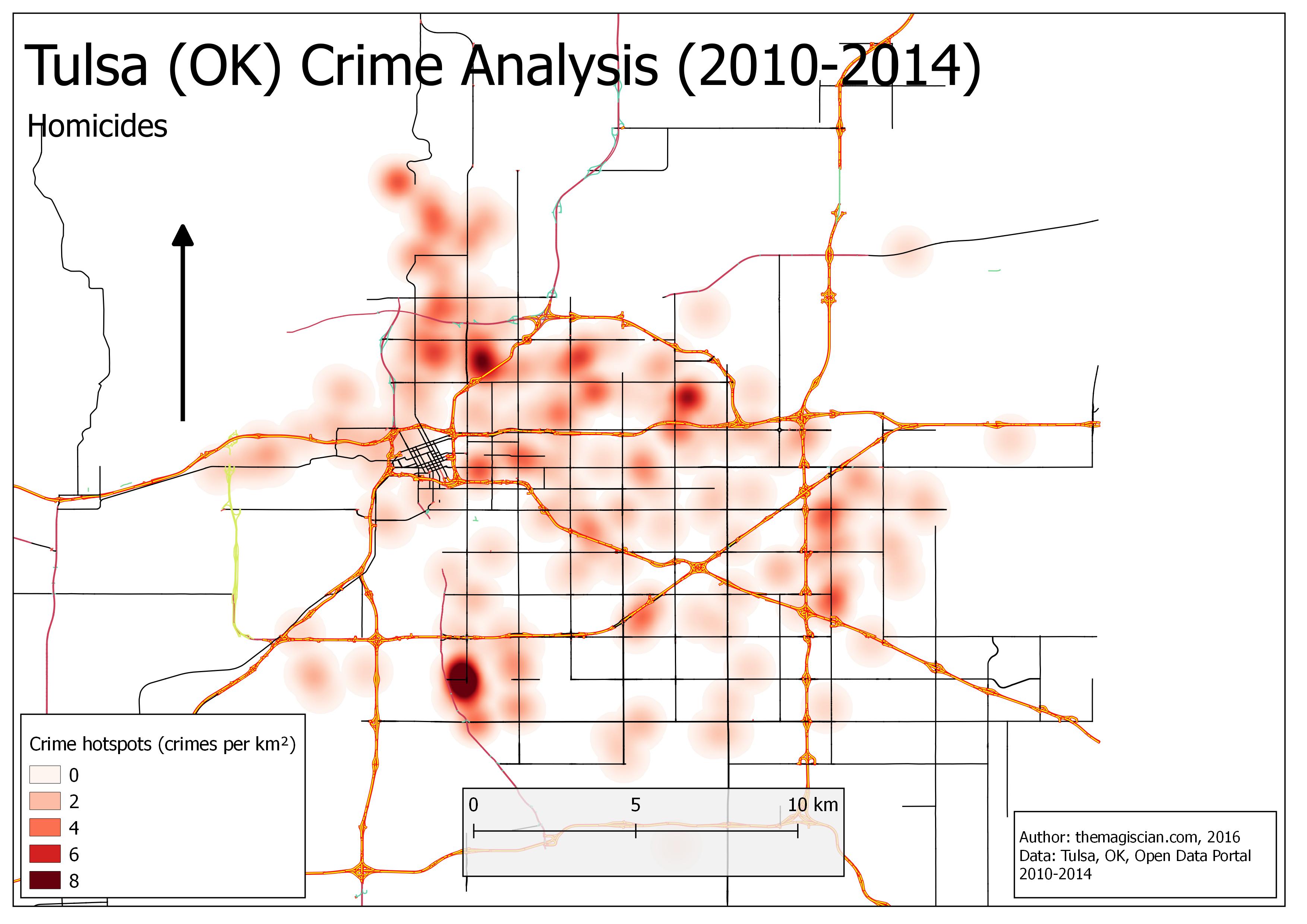 Homicides Hotspots (2010-2014)